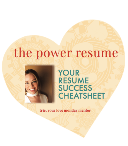 Resume Cheatsheet – Love Monday Madly